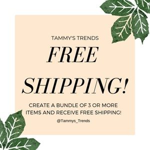 Other - Free Shipping On A Bundle Of 3 Or More Items